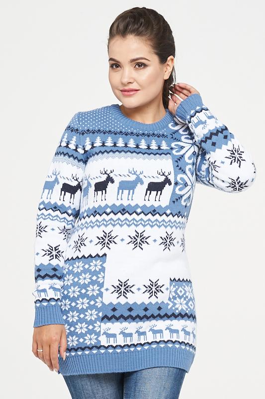 3c561a38642 Женские свитера с оленями  купить джемперы в Москве - SOGREVAY.RU